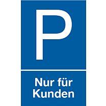 Parkplatz: Nur für Kunden