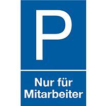 Parkplatz: Nur für Mitarbeiter