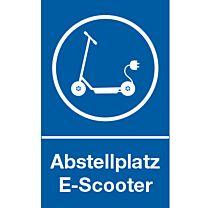 Abstellplatz für E - Scooter