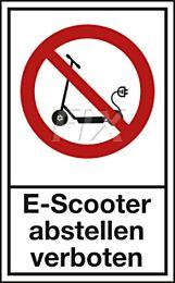 Parkverbot für Elektroroller