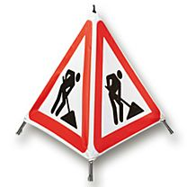 Warnfaltsignal Gefahrenstelle