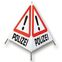 Warnfaltsignal Polizei