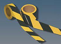 Warnmarkierungsband, reflektierend, gelb/schwarz