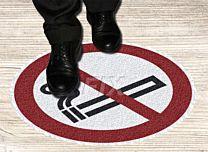 Bodenmarkierer - Rauchen verboten