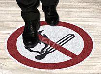 Bodenmarkierer-Feuer u. Rauchen verboten