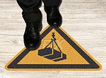Bodenmarkierer - Warnung v. schwebender Last