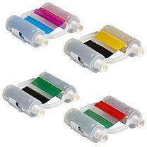 Farbbänder, 2-farbig oder 4-farbig, für BBP35 und BBP37