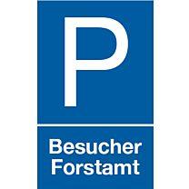 Parkplatz Besucher Forstamt