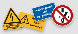 Elektro- und Maschienenkennzeichnung