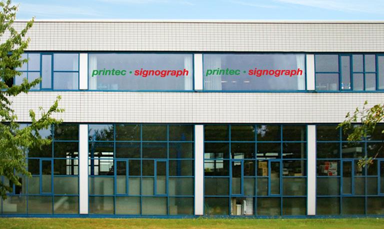 Printec Signograph Firmengebäude